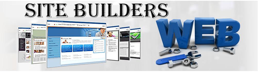site builders , بهترین سایت ساز ها