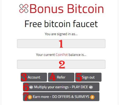 کسب بیت کوین رایگان با سایت bonus bitcoin