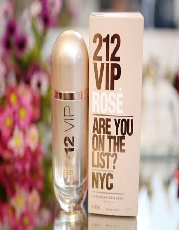 ادکلن زنانه 212 - خرید ادکلن زنانه 212 VIP - عطر و ادکلن فوق العاده خوشبو زنانه
