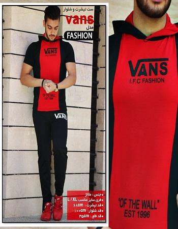 ست تیشرت و شلوار مردانه - خرید لباس مردانه خیلی شیک