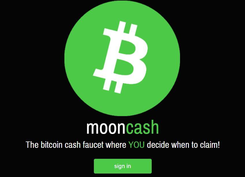کسب بیت کوین کش با سایت moon cash