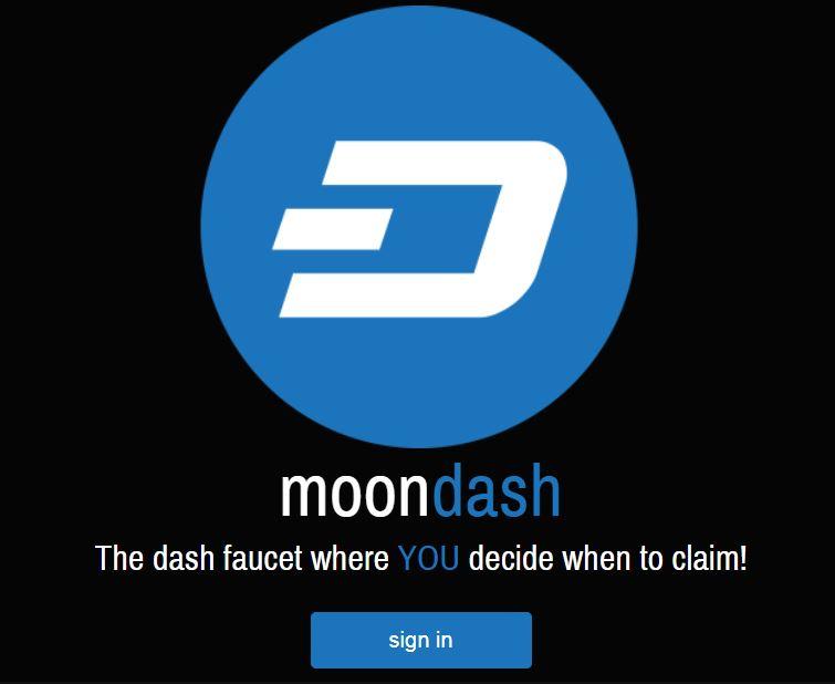 کسب ارز داش کوین با سایت moon dash